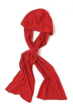 Hijab-friendly gallery: Hooded scarf by American Apparel