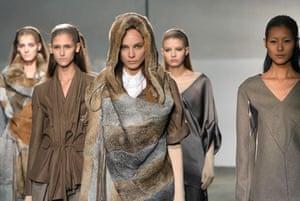 Paris FW Thursday: Models wear A Vandevorst