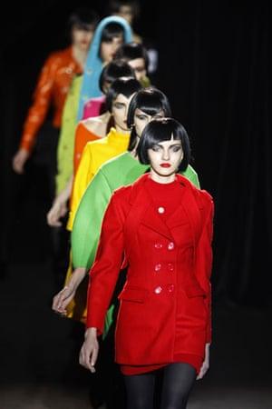 Paris FW Weekend: Models wear Jeremy Scott
