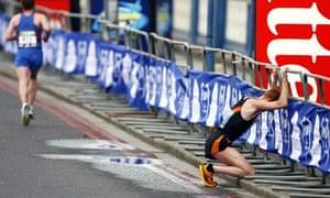 Berlin Marathon Injured
