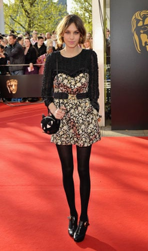 Bafta fashion: Alexa Chung