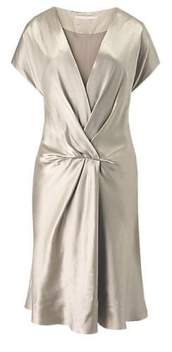The fashion briefing: Banana Republic gold dress