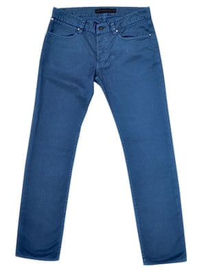 The fashion briefing: French Connection bright blue jeans