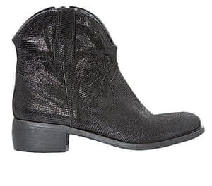 The fashion briefing: Cowboy ankle boot