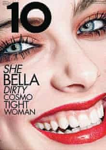 10 Magazine's bad makeup cover.
