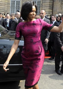 Michelle Obama in Strasbourg
