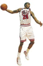 Tyrus Thomas of the Chicago Bulls