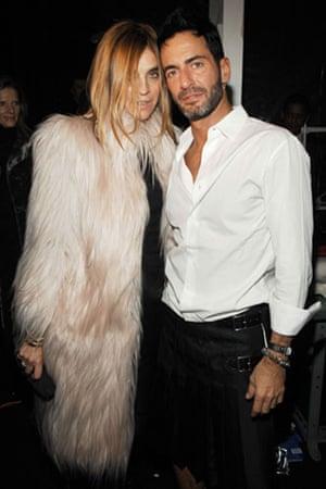 Carine Roitfeld: Carine Roitfeld and Marc Jacobs