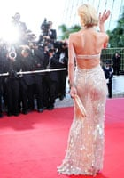 Model Eva Herzigova at the Looking For Eric Premiere at Cannes