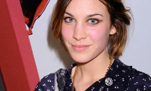 Alexa Chung at the Mulberry Book Party in New York