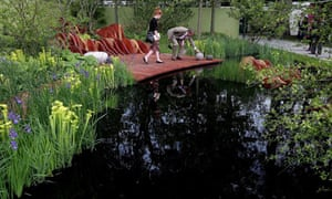 Designing Small Gardens Water Features Life And Style The Guardian