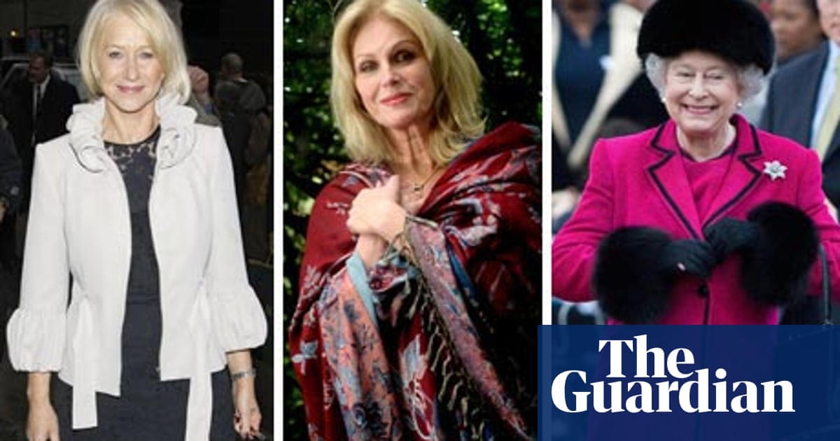 Glam Grans Style For The Over 60s Fashion The Guardian