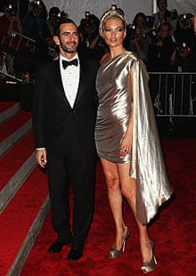Kate Moss and Marc Jacobs, Costume Institute Gala