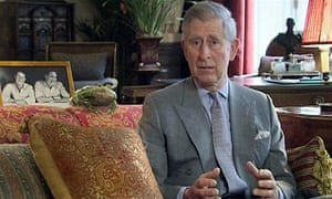 Prince Charles YouTube Rainforest Project