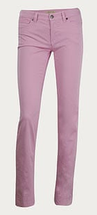 See by Chloe pink jeans