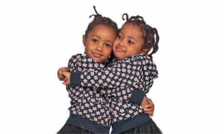 Identical twins, Fifi and Coco Tobin