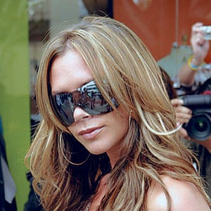 Sunglasses: Victoria Beckham in 2005