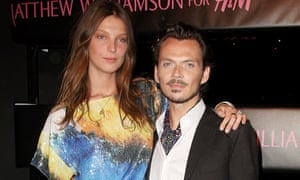 Matthew Williamson at the launch of his H&M collection 2009