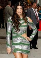 Singer Fergie of the Black Eyed Peas