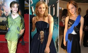 The changing look of Emma Watson