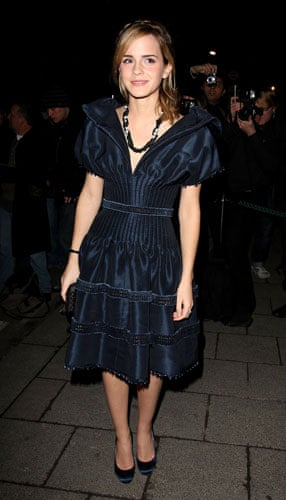 Emma Watson: Emma Watson at a Pre-BAFTA party 2007