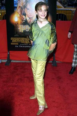 Emma Watson: Emma Watson in 2001