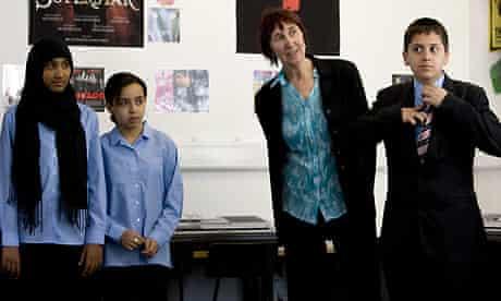 Michele Hanson, former teacher, returns to Holland Park school