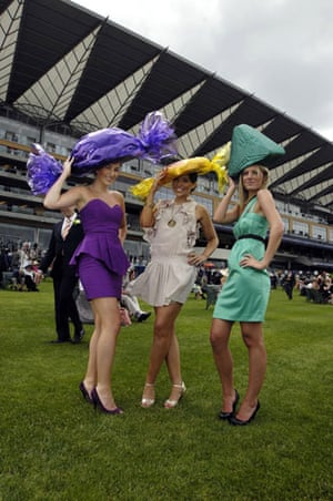 ladies day ascot: Ladies' Day at Ascot racecourse