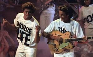 Slogan T-shirts: Wham!