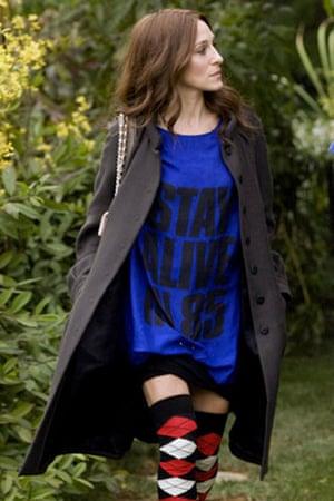 Slogan T-shirts: Sarah Jessica Parker