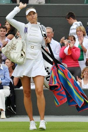 Wimbledon fashion: Maria Sharapova at Wimbledon 2009