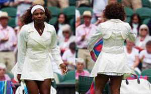 Wimbledon fashion: Serena Williams at Wimbledon 2009