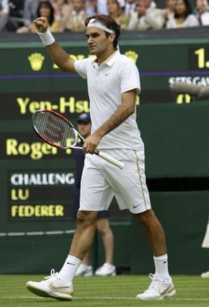 Wimbledon fashion: Roger Federer at Wimbledon 2009