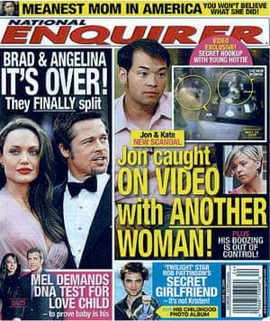 Jen-Brad-Angelina: National Enquirer