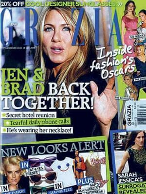 Jen-Brad-Angelina: Grazia