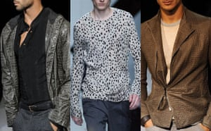 Menswear trends: Animal-inspired looks from Giorgio Armani and Burberry