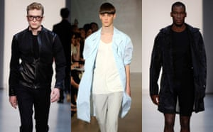Menswear trends: Coats from Calvin Klein and Jil Sander