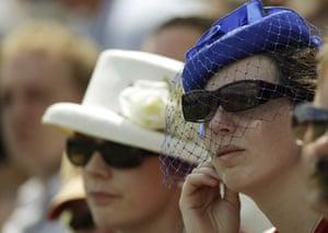 Wimbledon fashion: Wimbledon spectators
