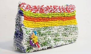 Perri Lewiss Bag Made From Plastic Bags