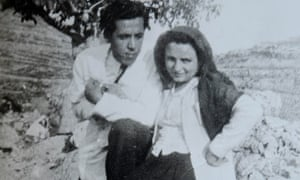 Hanan al-Shaykh's mother Kamila, with her first love Muhammad