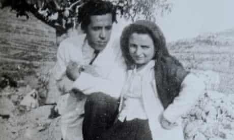 Hanan al-Shaykh's mother Kamila, with her first love Muhammad