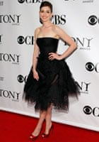 Anne Hathaway at the 63rd Annual Tony Awards