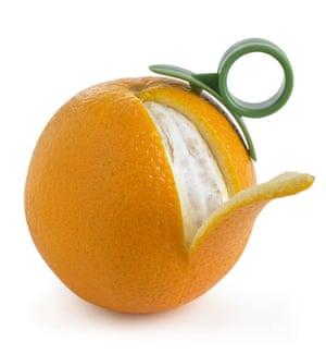 Gadgets gallery: Orange peeler from Lakeland