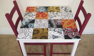 Will Taylor's customised dining table