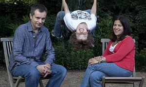 Annabel and Jonathan Wright with their son Marcus