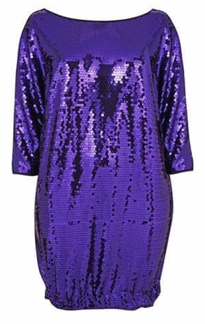 Beth Ditto for Evans: Purple sequin top