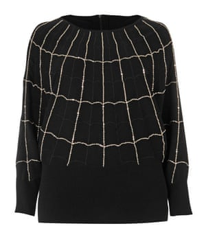 Beth Ditto for Evans: Chain knit jumper