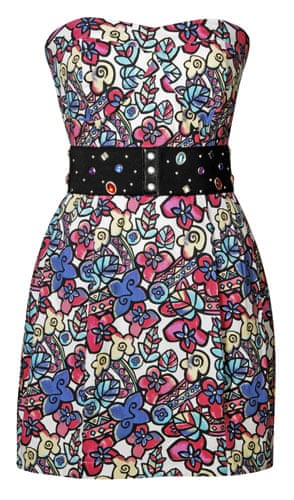 Beth Ditto for Evans: Stained-glass prom dress