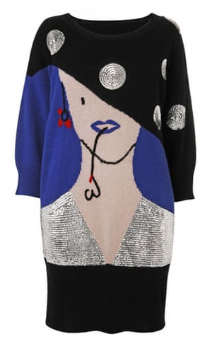Beth Ditto for Evans: Face jumper dress