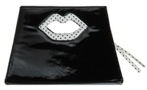 Beth Ditto for Evans: Lip handbag
